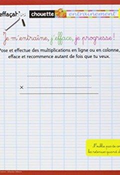 Livres Couvertures de Les mémos effaçables - La Multiplication