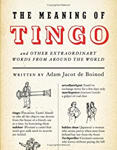 "Cover of ""The Meaning of Tingo: And Other..."