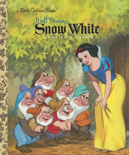 Snow White and the Seven Dwarfs (Disney Princess) (Little Golden Book)