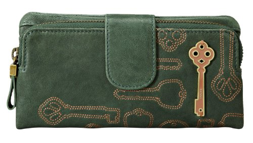 Fossil Penelope Clutch - Forest