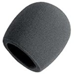 On Stage Foam Ball-Type Mic Windscreen, Black for $2.95 + Shipping