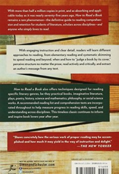 Livres Couvertures de How to Read a Book: The Classic Guide to Intelligent Reading