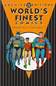 "Cover of ""World's Finest Comics Archives,..."