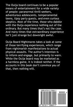 Livres Couvertures de Ouija Board Nightmares: Terrifying True Tales