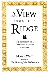 "Cover of ""A View from the Ridge: Testimon..."