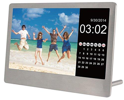 Sylvania SDPF7977 7-Inch Stainless Steel Digital Photo Frame