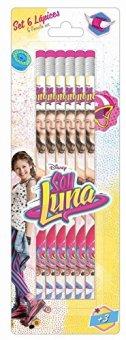Soy-Luna-Set-con-6-lpices-con-goma-Safta-311626781