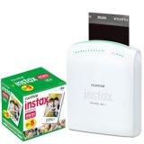 Fujifilm-Instax-Share-Smartphone-Portable-Printer-SP-1-With-Fujifilm-Instax-Mini-Instant-Film-10-Sheets-5-Pack