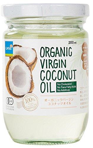 【チブギス】有機JAS認定 オーガニック エキストラバージン ココナッツオイルORGANIC VIRGIN COCONUT OIL 200ml