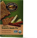 Nature's Path Organic Toaster Pastries Unfrosted Apple Cinnamon -- 11 oz