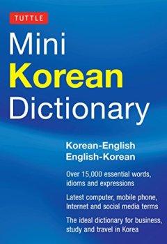 Livres Couvertures de Tuttle Mini Korean Dictionary: Korean-English English-Korean