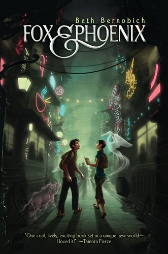 Fox and Phoenix (Lóng City #1) by Beth Bernobich