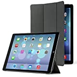 PLEMO iPad Pro用レザーカバーケース オートスリープ スマートケース 新型12.9インチ&ウェイクアップ機能付き