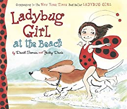 """Cover of """"Ladybug Girl at the Beach"""""""