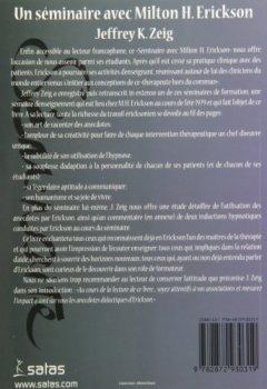 Livres Couvertures de Un séminaire avec Milton Erickson
