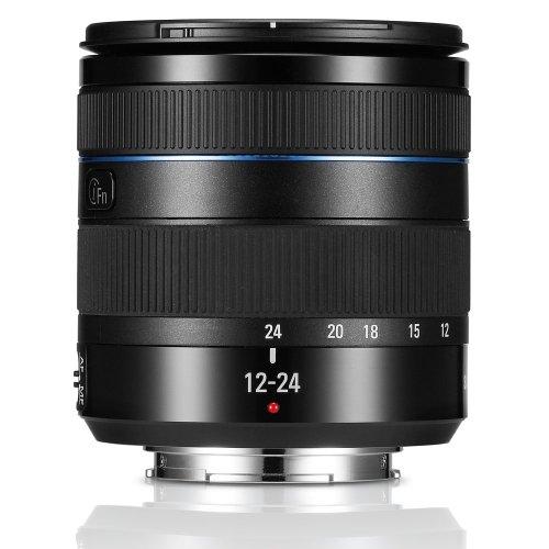 Samsung NX 12-24mm f/4.0-5.6 Camera Lens (Black)