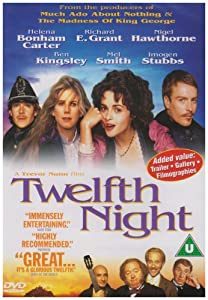 """Cover of """"Twelfth Night: Or What You Will..."""