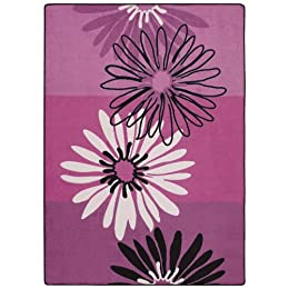 Product Image Seventeen® Flirt Daisy Rug Collection - Hot Pink