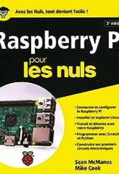 Livres Couvertures de Raspberry Pi Pour Les Nuls Grand Format, 2e édition