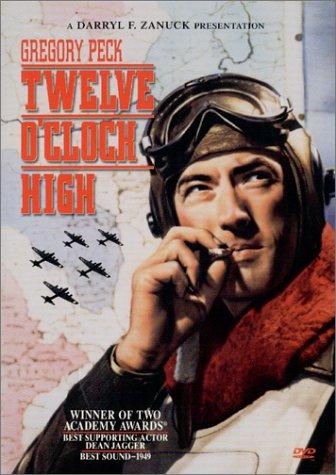 Twelve O'Clock High DVD cover at Amazon