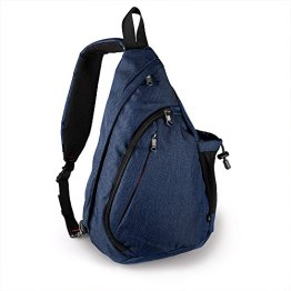 OutdoorMaster Sling Bag - Small Crossbody Backpack for Men & Women