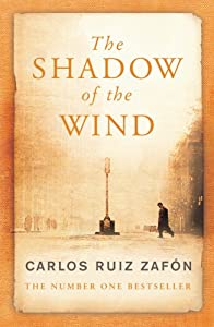 """Cover of """"The Shadow of the Wind"""""""