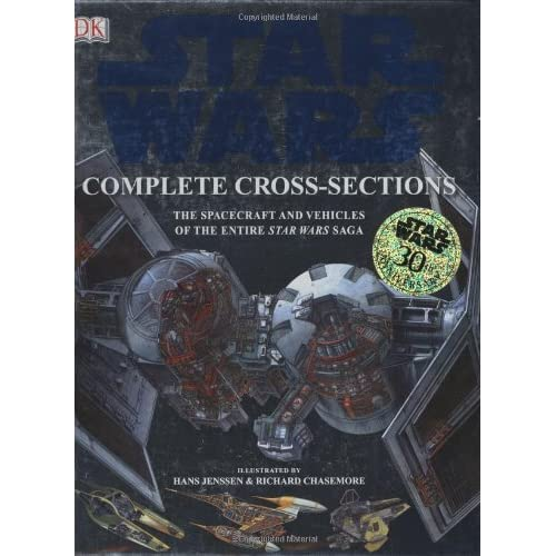 complete star wars cross section book