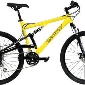 NEW IN BOX Gravity FSX 1.0 Dual Full Suspension Mountain 26 inch Wheel Bike Shimano Acera 24 Speed Bicycle Review