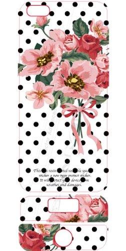 ビクターアドバンストメディア iPhone5/5S デザイナーズデコレーションシール KL-I5FL-DOT