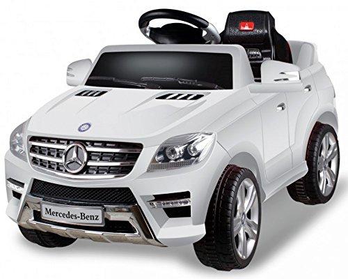 #Original Mercedes-Benz ML 350 SUV Weiss Jeep Lizenz Kinderauto Kinderfahrzeug#