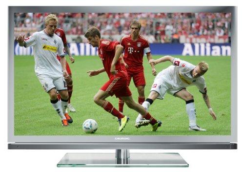 Grundig 46 VLE 8160 SL117 cm (46 Zoll) 3D LED-Backlight-Fernseher, Energieeffizienzklasse A (Full-HD, DVB-T/C/S2) silber