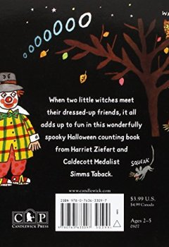 Livres Couvertures de Two Little Witches: A Halloween Counting Story Sticker Book