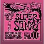 Ernie Ball Super Slinky String Set (9 – 42) for $5.4 + Shipping