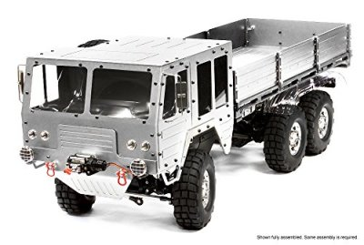 Integy-RC-Hobby-C25853SILVER-Billet-Machined-6X6-7T-GL-High-Mobility-Off-Road-Truck-110-Size-ARTR