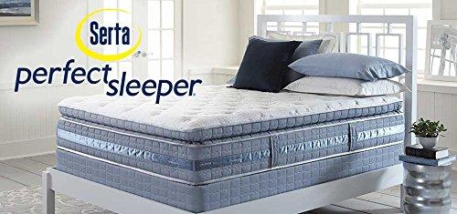 serta perfect sleeper lakewood super pillow top mattress hybrid gel king mattress only prices homcom deluxe