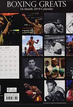 Livres Couvertures de Boxing Greats 2019 Square Wall Calendar
