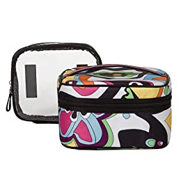 Sonia Kashuk® Train Case with Top Handle - Crazy Print