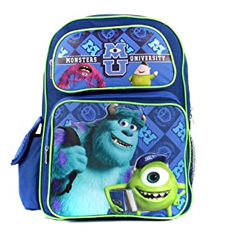 Monster University Backpack Large 16 Scare School