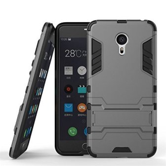Febelo Branded Hybrid Armor Robot Design Shockprooof KickStand hard back Case Cover...