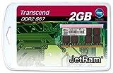 Transcend 2GB JETRAM 200pin DDR2 667 SO-DIMM ノートブック用 JM667QSU-2G