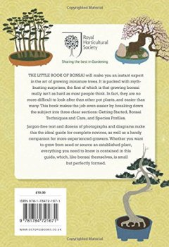 Livres Couvertures de RHS The Little Book of Bonsai: Master the Art of Growing Miniature Trees