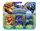 Skylanders Swap Force - Triple Pack C (Star Strike, Gill Grunt, Trigger Happy)
