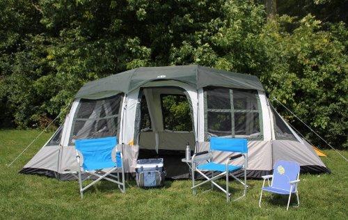 Tahoe Gear Prescott 10 Person Family Cabin Tent