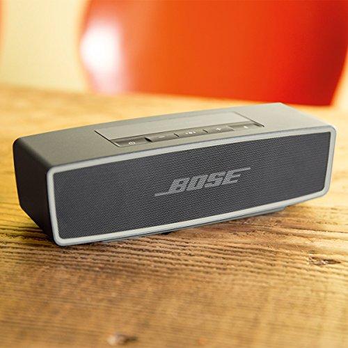 Bose SoundLink Mini Bluetooth speaker II : Bluetoothスピーカー ポータブル/ワイヤレス対応/通話可能 カーボン SLink Mini II CBN【国内正規品】