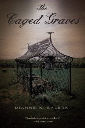 The Caged Graves by Dianne K. Salerni| wearewordnerds.com