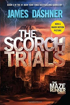 The Scorch Trials (Maze Runner, Book Two) by James Dashner | Featured Book of the Day | wearewordnerds.com