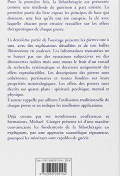 Livres Couvertures de Manuel de lithothérapie : Ou l'art de soigner avec les pierres