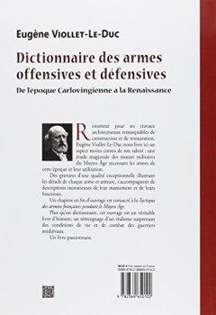 Télécharger Dictionnaire Des Armes Offensives Et Défensives De L