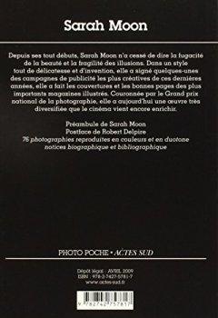 Livres Couvertures de Sarah Moon