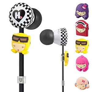 Beats by Dre The Harajuku Lovers Wicked Style In-Ear Headphones with Interchangeable Faces from Monster,Headphones for Unisex